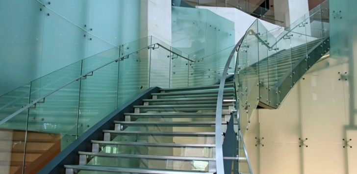 Stylish Glass Banister Near Me Picture 435