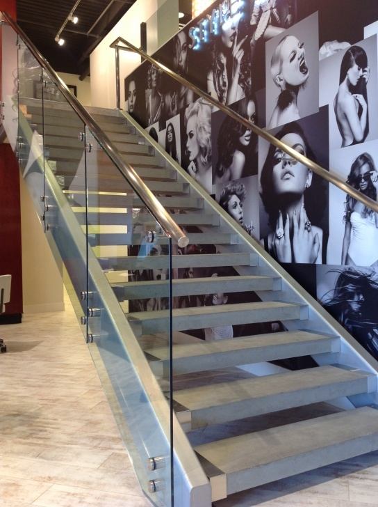 Stylish Glass Staircase Near Me Image 360