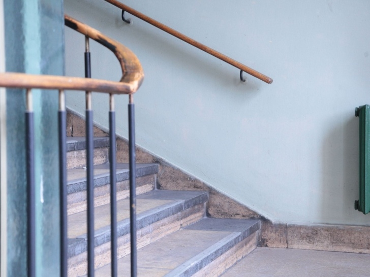 Stylish Handrails For Stairs Interior Image 388