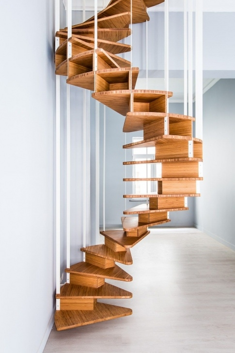 Stylish Indoor Spiral Staircase Picture 232