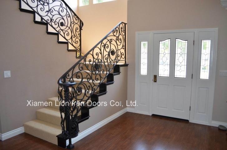 Stylish Interior Iron Railing Photo 690