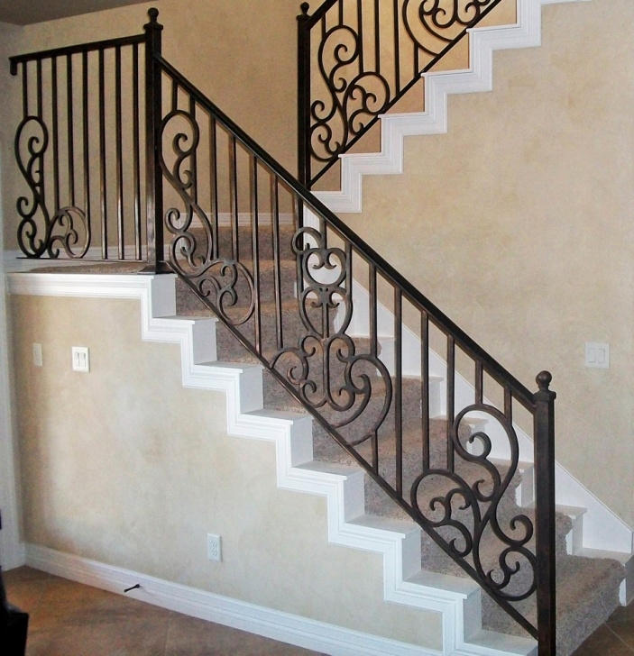 Stylish Interior Stair Railings Picture 885