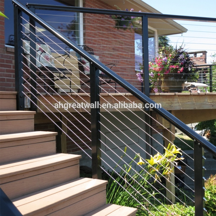 Stylish Metal Deck Stairs Picture 802