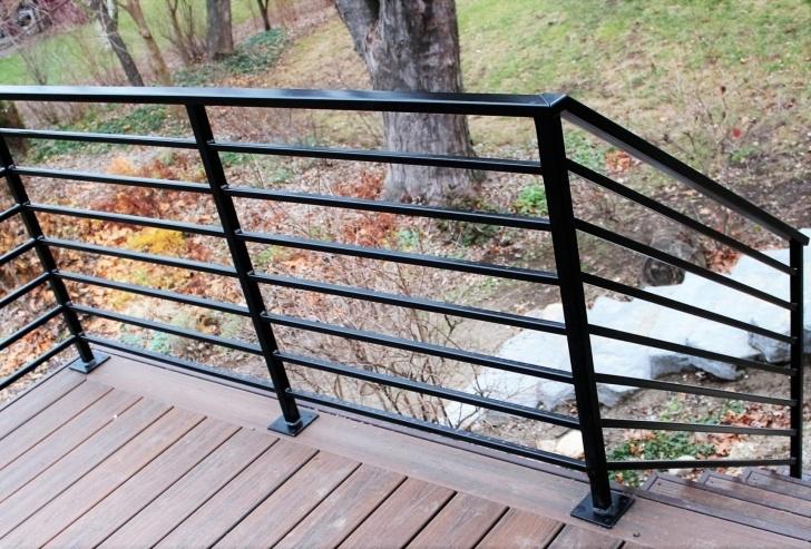 Stylish Metal Handrails For Decks Image 815