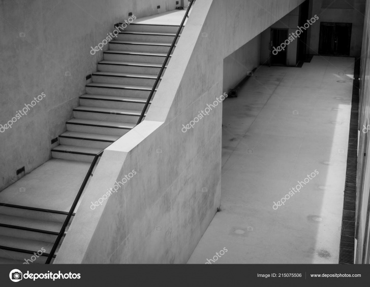 Stylish Modern Concrete Stairs Picture 342