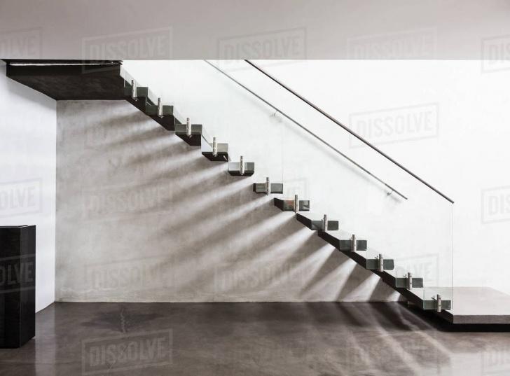Stylish Modern Floating Stairs Image 073