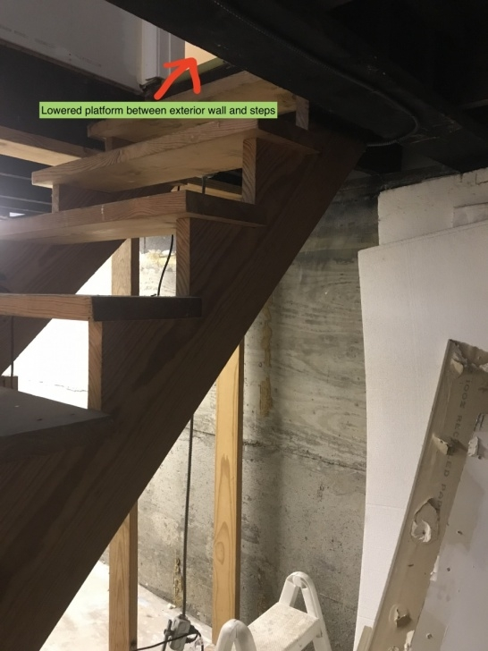 Stylish Moving Basement Stairs Picture 189