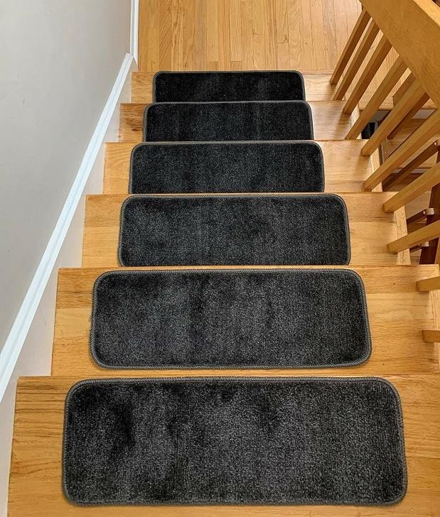 Stylish Non Slip Stair Treads Carpet Photo 719