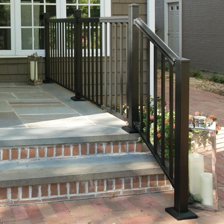 Stylish Outdoor Stair Railing Lowes Image 849