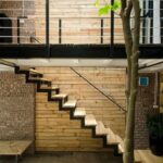Stylish Outside Stair Design For Small House Photo 660