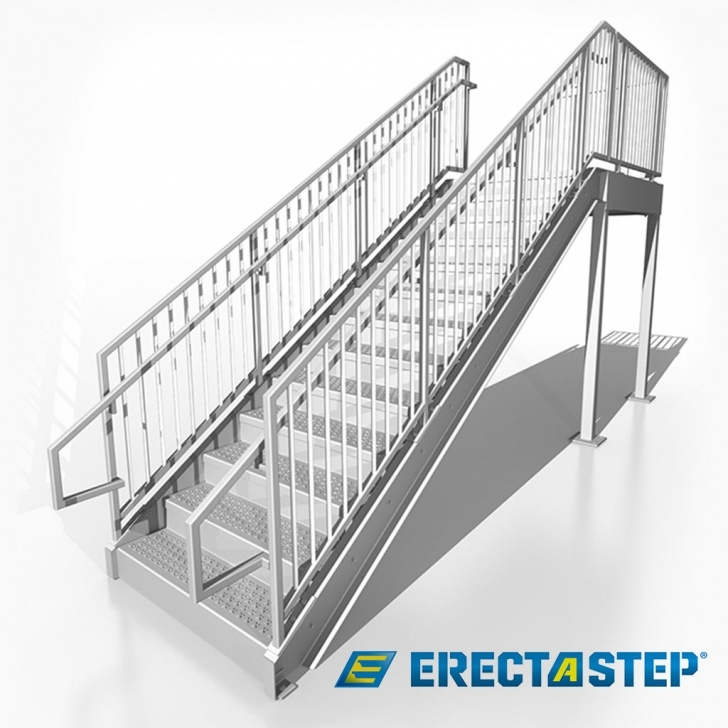 Stylish Prefabricated Metal Stairs Photo 567