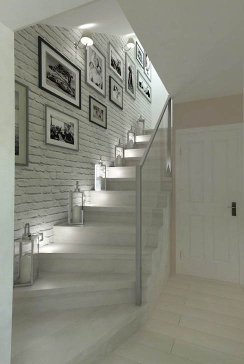 Stylish Quarter Turn Staircase Design Picture 342