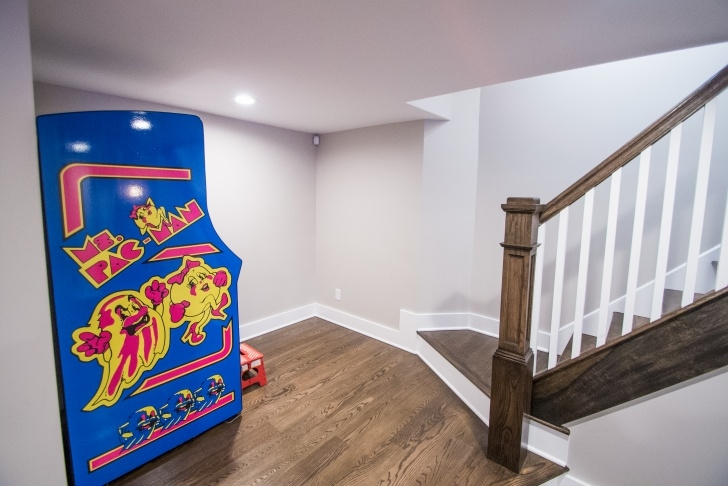 Stylish Reconfiguring Basement Stairs Picture 460