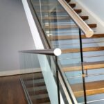 Stylish Stainless Steel Staircase Image 658