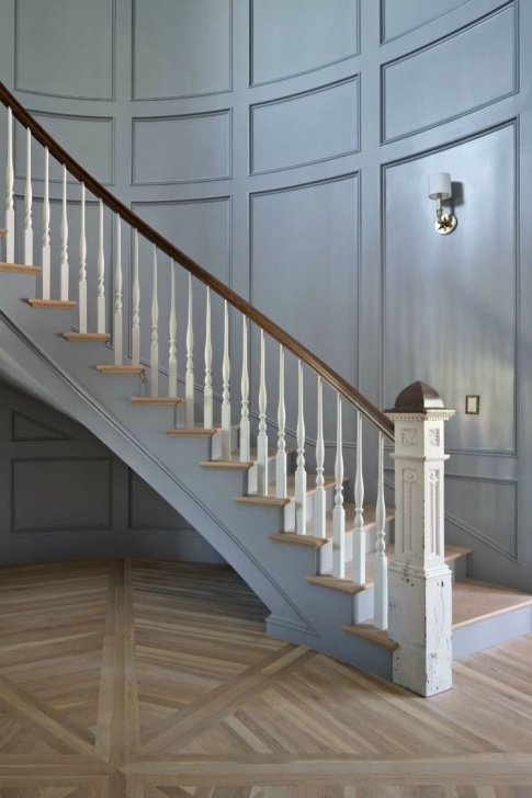 Stylish Staircase Down Design Image 033