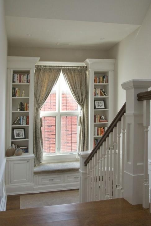 Stylish Staircase Landing Window Designs Image 837