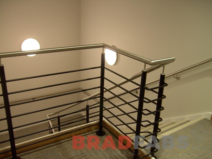 Stylish Steel Balustrades And Handrails Photo 394