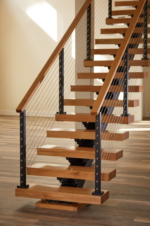 Stylish View Rail Stairs Photo 777