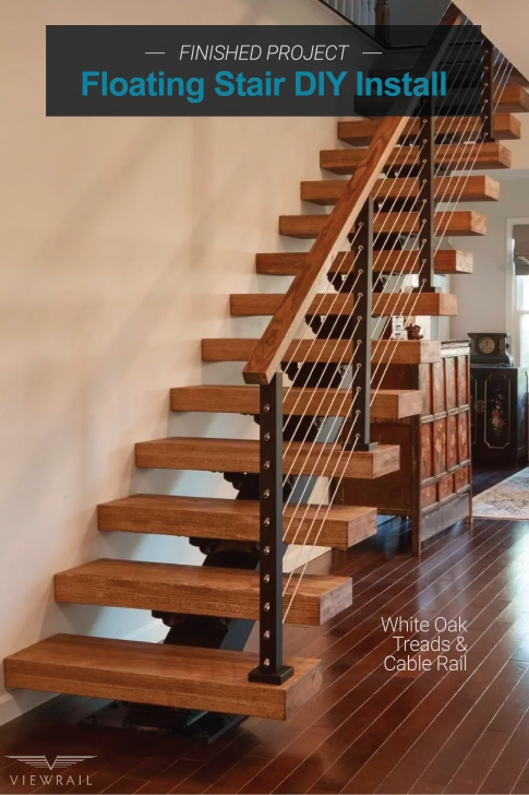 Stylish View Rail Stairs Photo 876