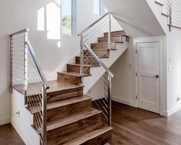 Stylish Wood Floor Stairs Image 294