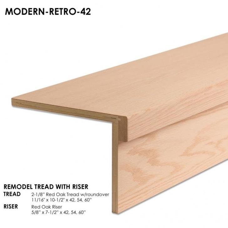 Stylish Wood Stair Treads Photo 941