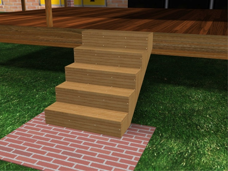 Stylish Wooden Porch Steps Image 436
