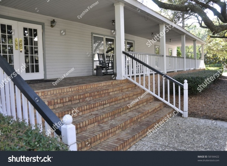 Super Cool Brick Steps To Wood Porch Image 464
