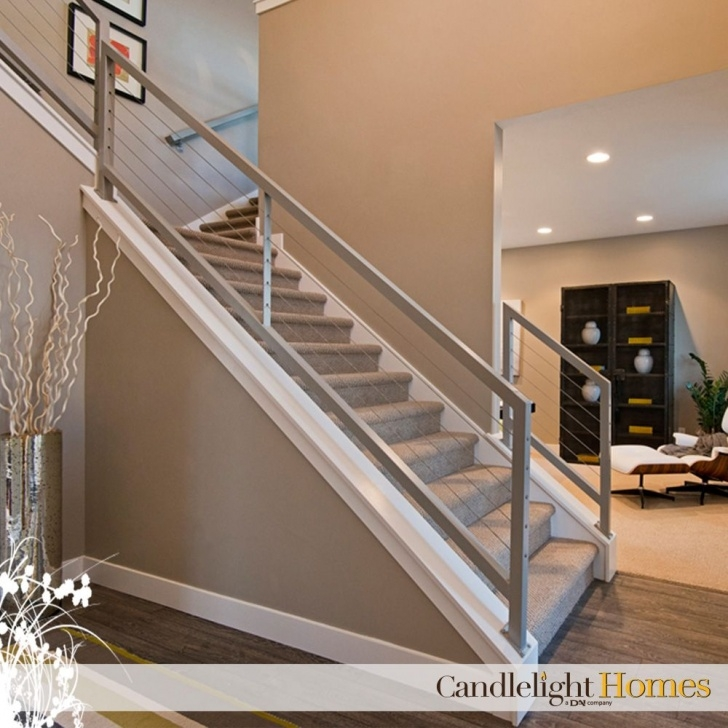 Super Cool Contemporary Stair Railing Photo 728