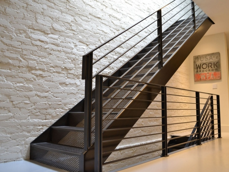 Super Cool Exterior Steel Stairs Picture 747