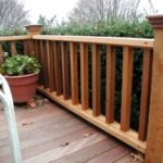 Super Cool Exterior Wood Handrail Designs Photo 805