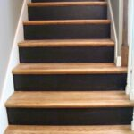 Super Cool Painted Wooden Stairs Picture 600