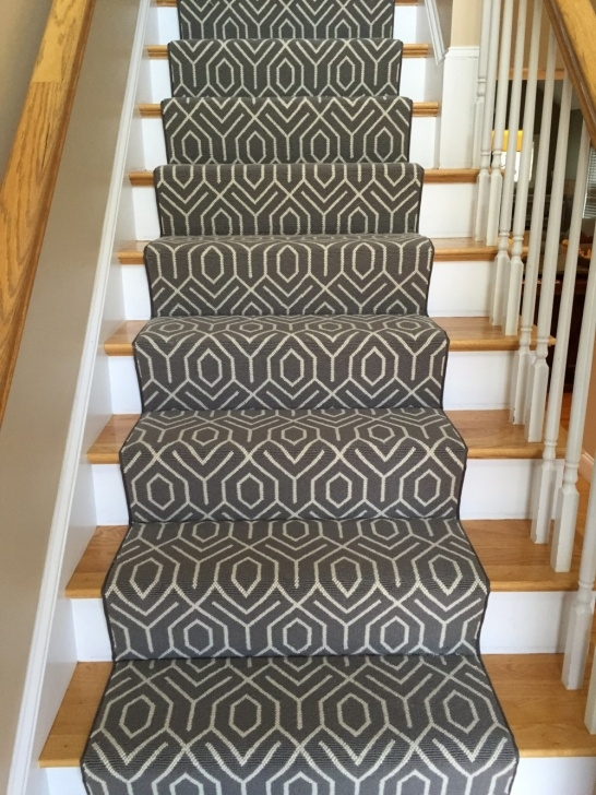 Super Cool Patterned Stair Runners Photo 734