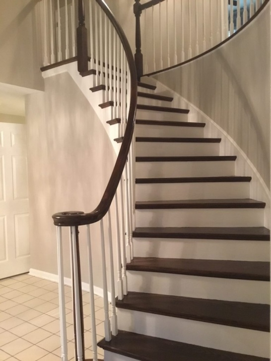 Super Cool Refinishing Hardwood Stairs Image 036