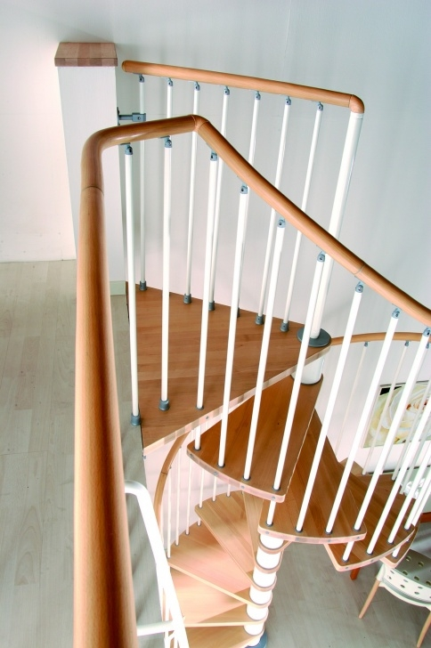 Super Cool Spiral Staircase Handrail Picture 025