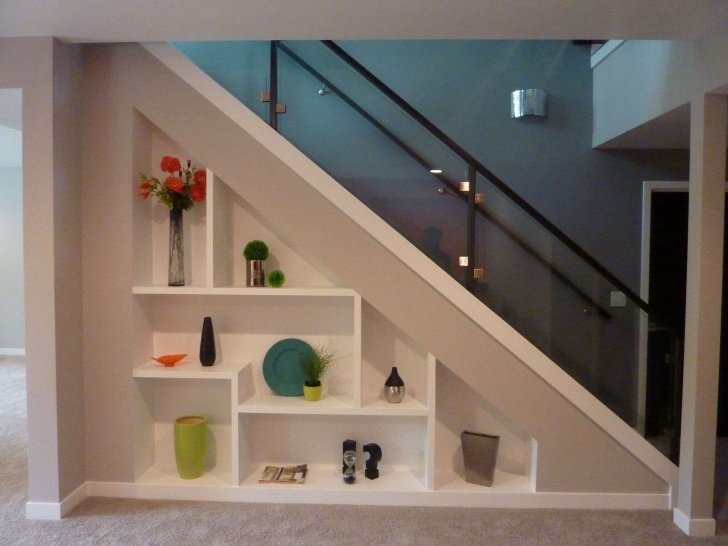 Super Cool Stairs With Cabinet Design Photo 912