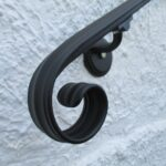 Super Cool Wrought Iron Hand Railing Exterior Photo 776