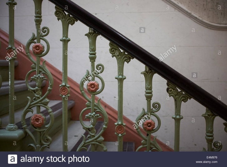 Surprising Decorative Handrails For Stairs Photo 242