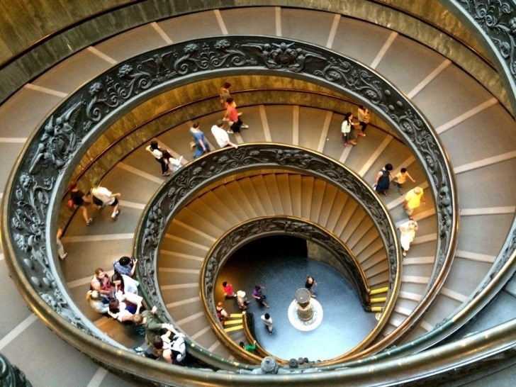 Surprising Famous Spiral Staircase Image 973