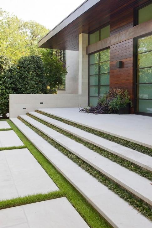 Surprising Floating Concrete Steps Designs Image 703