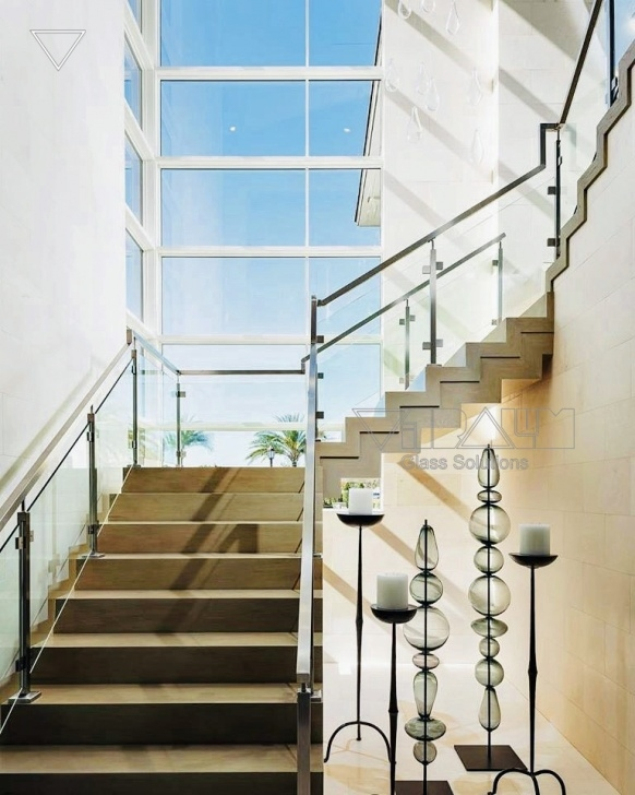 Surprising Glass Stair Railing Picture 109