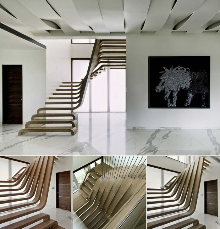 Surprising Hanging Stairs Design Image 940