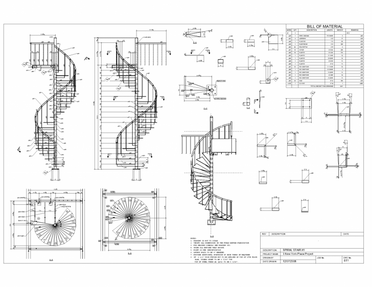 Surprising Helical Staircase Structural Design Image 411