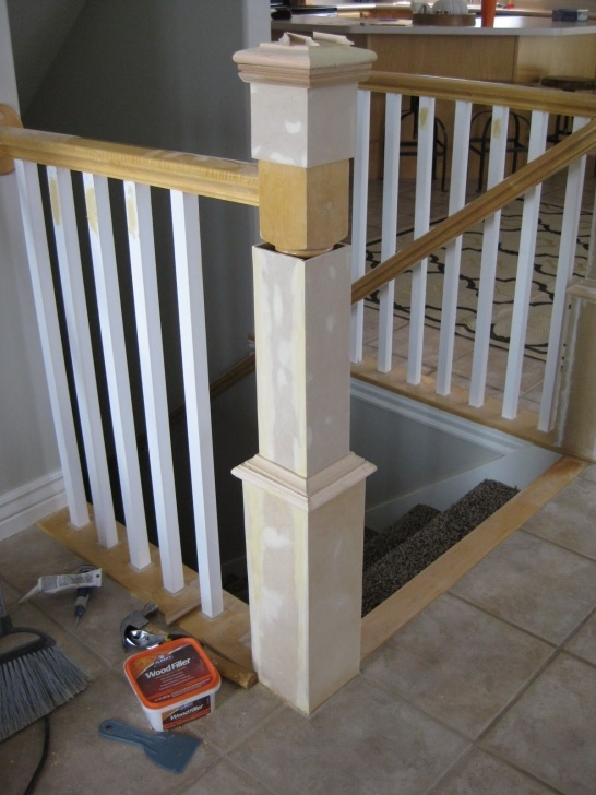 Surprising Installing Newel Post And Spindles Image 749