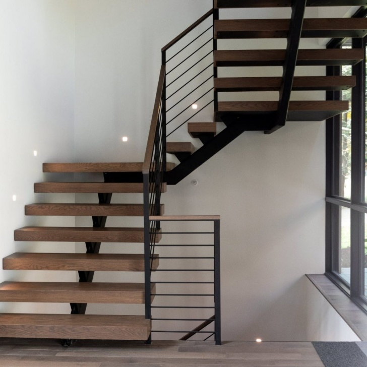 Surprising Metal Floating Stairs Picture 710