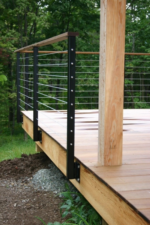 Surprising Metal Handrails For Decks Picture 467