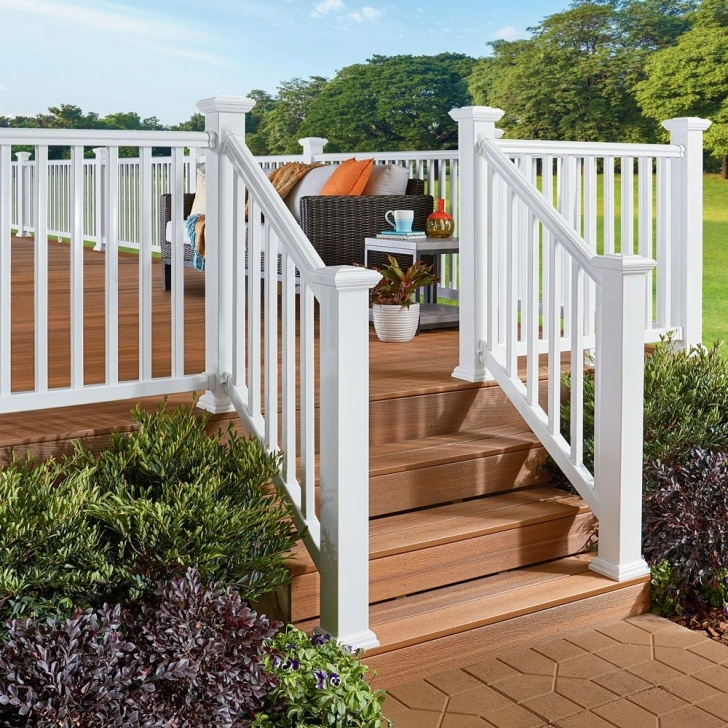 Surprising Outdoor Wood Stair Railing Image 042