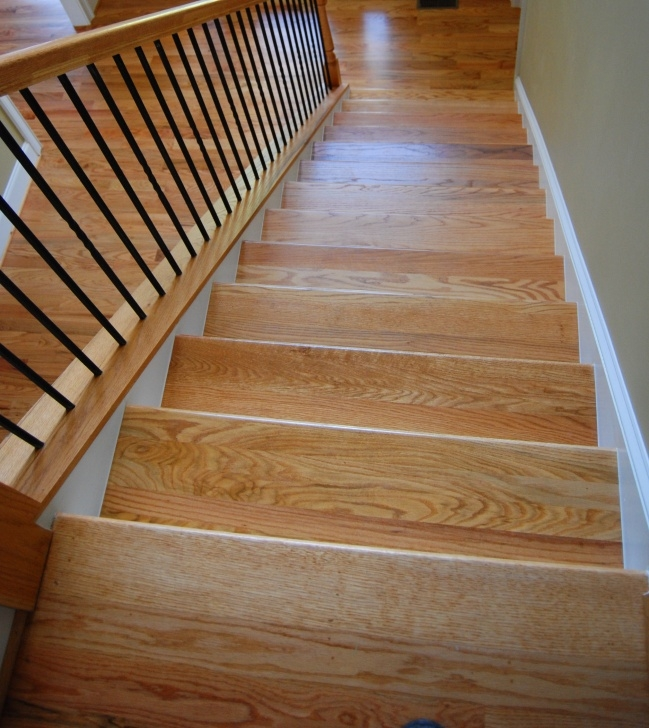 Surprising Red Oak Stairs Image 484