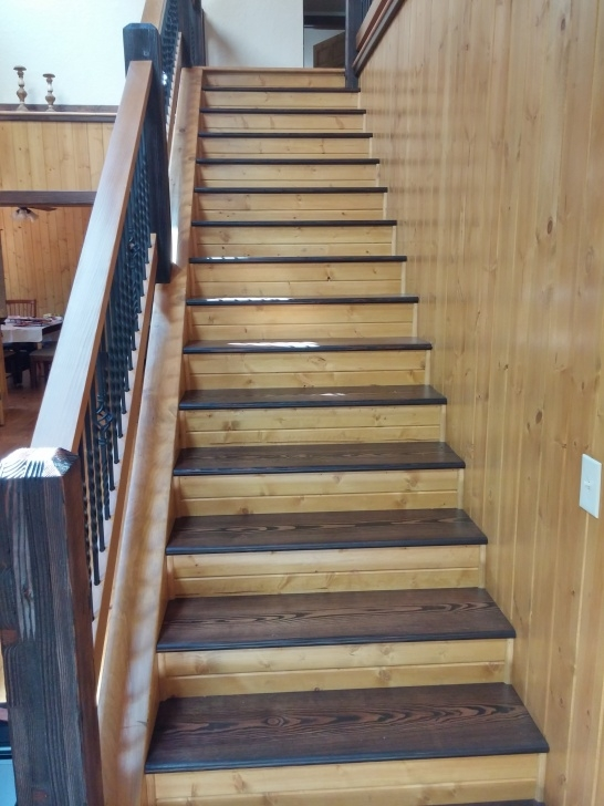 Surprising Refinishing Wood Stairs Photo 535