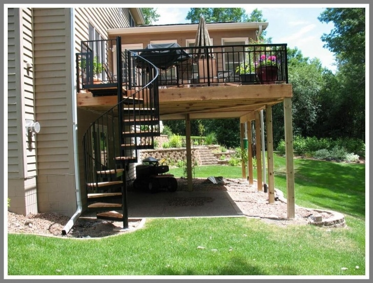 Surprising Spiral Deck Stairs Picture 114