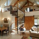 Surprising Spiral Staircase To Attic Bedroom Photo 053